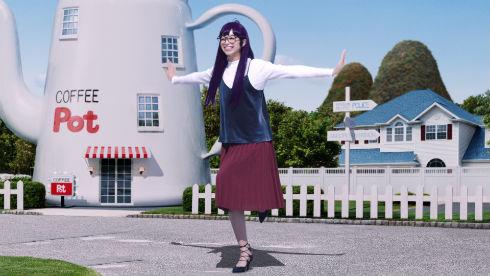 中条あやみがアラレちゃんになりきって「んちゃ!」 GU新CMは「Dr.スランプ」シリーズ