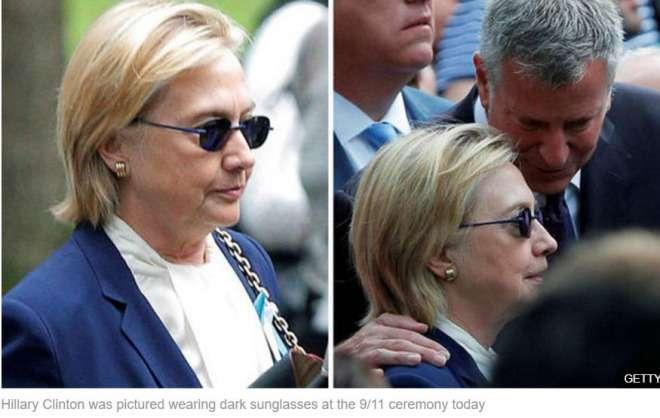 ヒラリー・クリントン氏、肺炎に…同時テロ式典で体調崩し退席