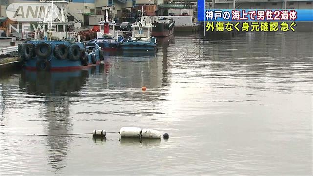 神戸市の海で2遺体相次ぎ発見 身元の確認急ぐ