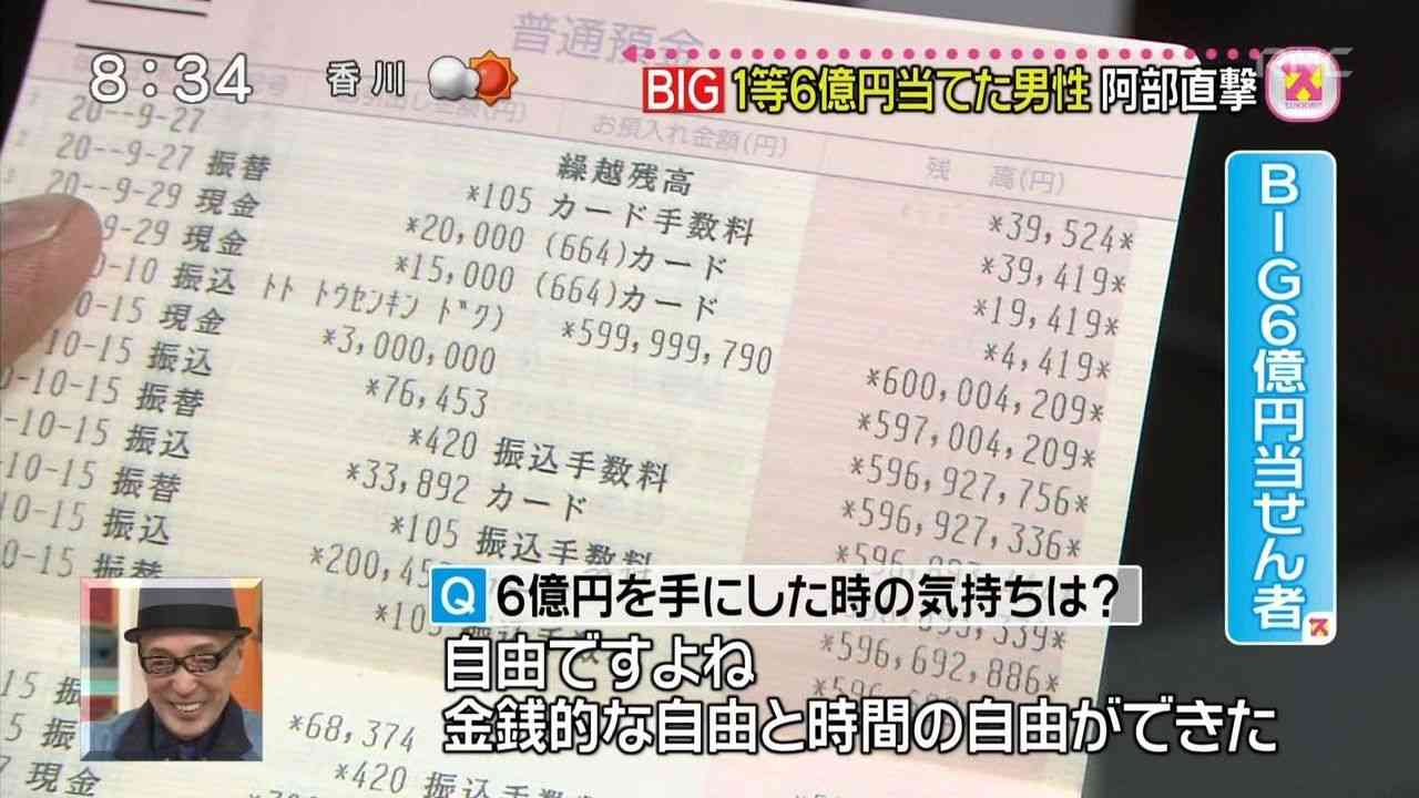 【妄想】宝くじ高額当選後の帰り道