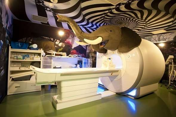 壁は前衛アート、ベランダにフラミンゴ、MRIがパオーン!? 超サイケデリック!江戸川病院に行ってみた(全文表示) - コラム - Jタウンネット 東京都