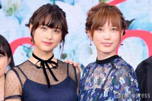 本田翼&山本美月、TOKIOの中でタイプは誰?まさかの回答にメンバースタジオから撤収 - モデルプレス