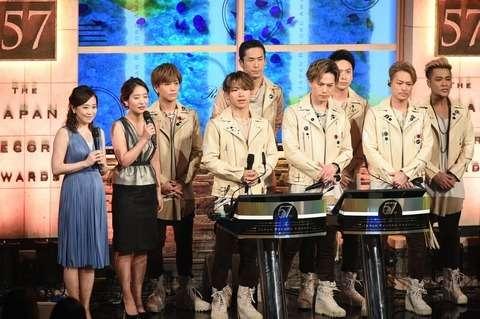 第57回日本レコード大賞は三代目 J Soul Brothers