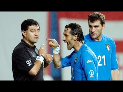 FIFA World Cup 2002 - Disgrace of a Sport - YouTube