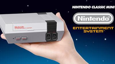 手乗りサイズの小型ファミコン「Nintendo Classic Mini」発表、ファミコンタイトル30作を内蔵 - GIGAZINE