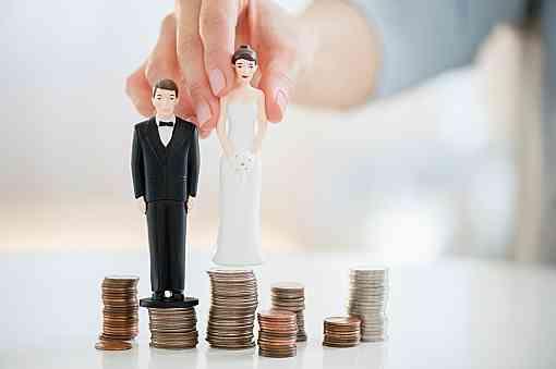 [言う]結婚する時の貯金[言わない]