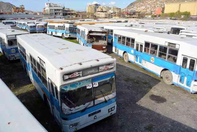 日本供与のバス80台、アフガンで野ざらし その理由は:朝日新聞デジタル