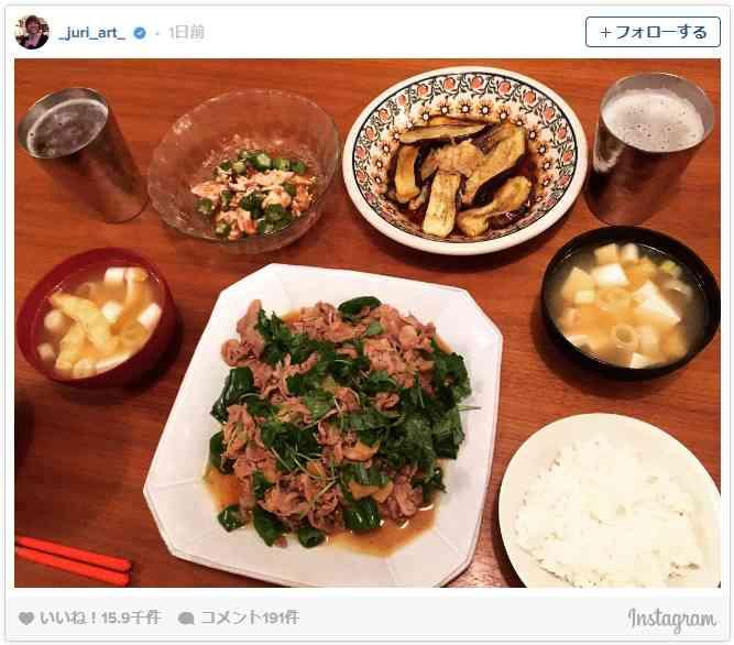 さすが平野レミの息子!上野樹里が公開した夫の手料理がおいしそう - シネマトゥデイ
