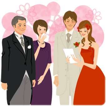 結婚式で自分の親とトラブルになった人いますか?