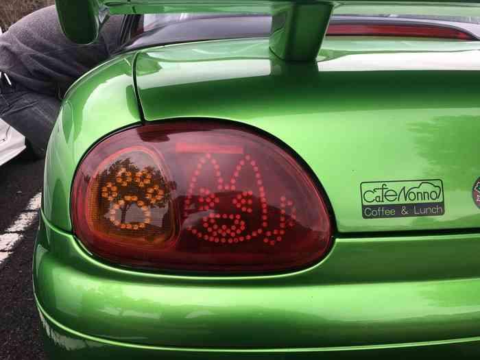 テールランプが可愛すぎる車が話題に!!これは商品化されると売れそう|オタクニュース