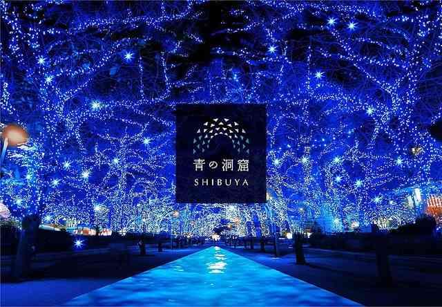 イルミネーション「青の洞窟」が渋谷で復活 新たな冬の風物詩へ - ライブドアニュース