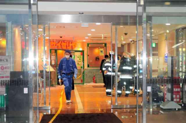 ファミレスで口論の男女、火だるま 茨城・土浦:朝日新聞デジタル