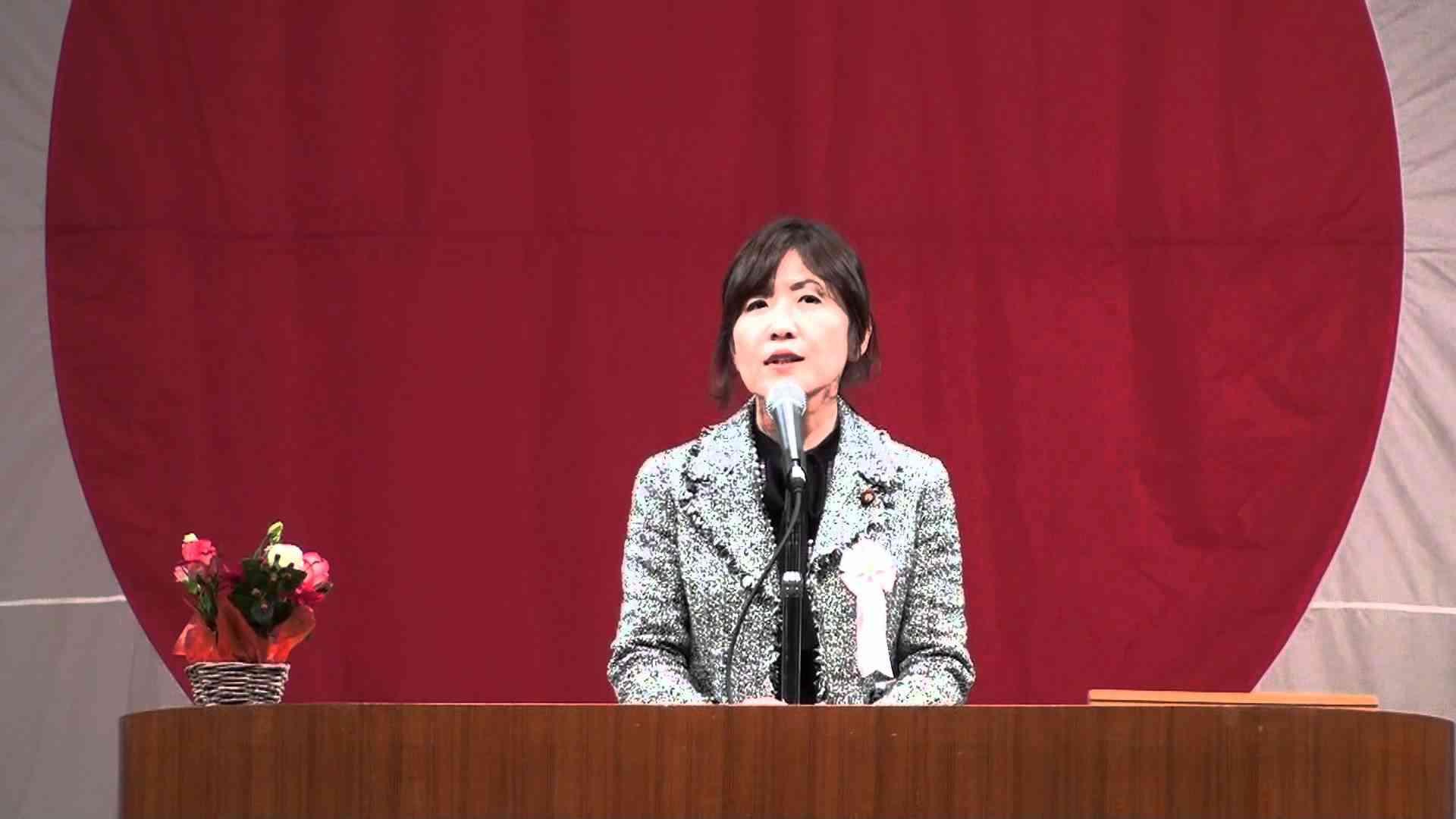 稲田朋美 名演説 高画質 - YouTube
