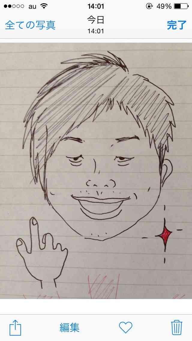 有名人の似顔絵を描いてupするトピpart3