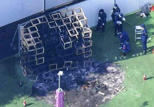 神宮外苑の火災 イベント側の謝罪文に批判相次ぐ「被害者を冒涜している」 - ライブドアニュース
