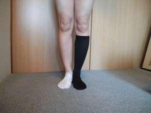 サッカー選手・メッシのタトゥーが靴下に変化