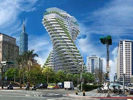 台北で建設中の「ネジれた超高級マンション」が話題に!