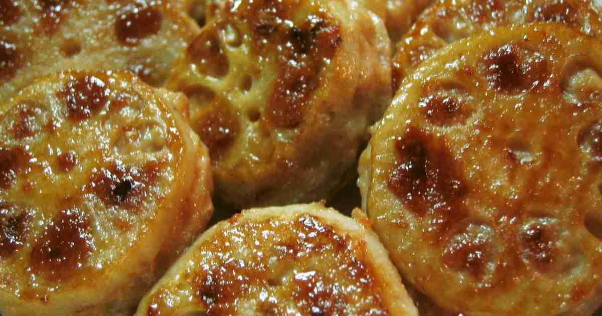 ♪シャキシャキ蓮根ひき肉はさみ焼き♪ by キキママ♪ [クックパッド] 簡単おいしいみんなのレシピが251万品