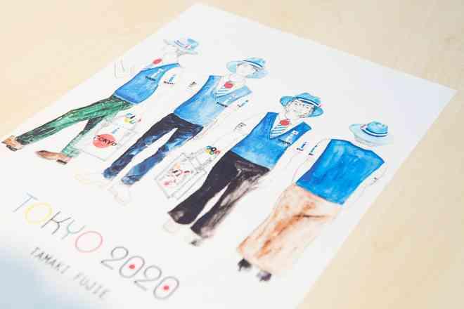 【インタビュー】「私なりにベストを尽くした」デザイナー藤江珠希が語る東京都観光ボランティアのユニフォーム | Fashionsnap.com