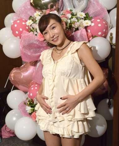加護亜依、第2子性別は男の子「胎動もとっても激しい」