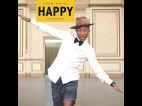 Pharrell Williams-HAPPY-日本語訳&歌詞 - YouTube