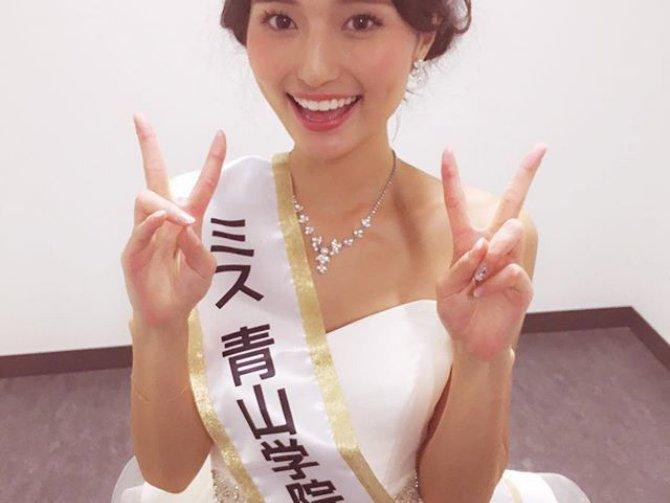 「逃げ恥」にも出演!!ミス青学2015年の山賀琴子はやっぱり綺麗すぎる!!! | ギャザリー
