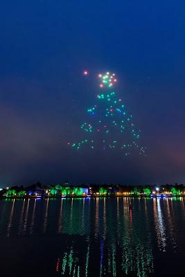 クリスマスにディズニーが空に魔法をかける新たなエンターテイメントが登場!