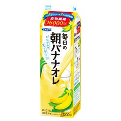 【注意】エルビー「毎日の朝バナナオレ」回収 大腸菌群が混入している可能性