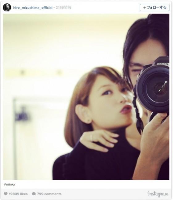 """水島ヒロ、愛娘との""""ほっこり""""写真に反響「かっこよすぎ可愛いすぎ」"""