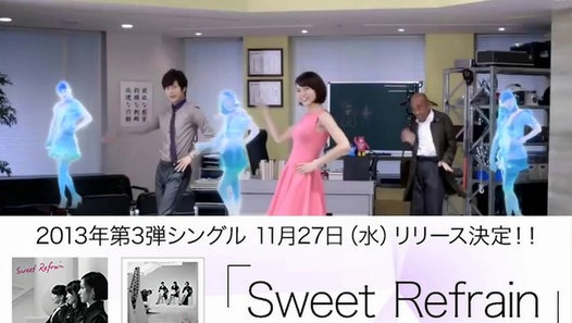 Perfume 2013 第3弾シングル 「Sweet Refrain」 11月27日リリース! - Dailymotion動画