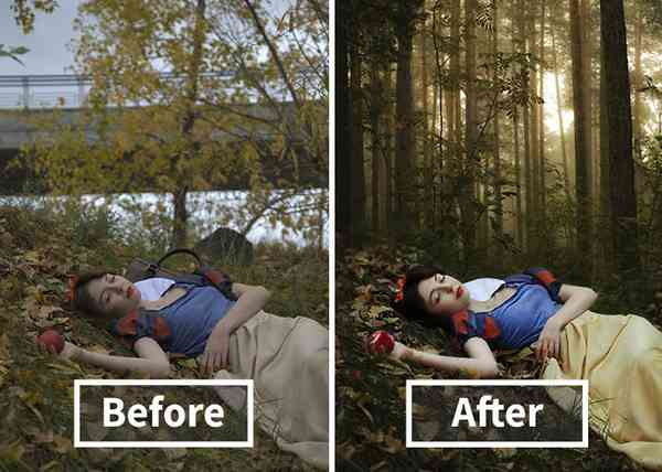【フォトショ魔法】ここまで変わるの?プロが本気で写真を処理した結果…【ビフォーアフター】 | 不思議.net