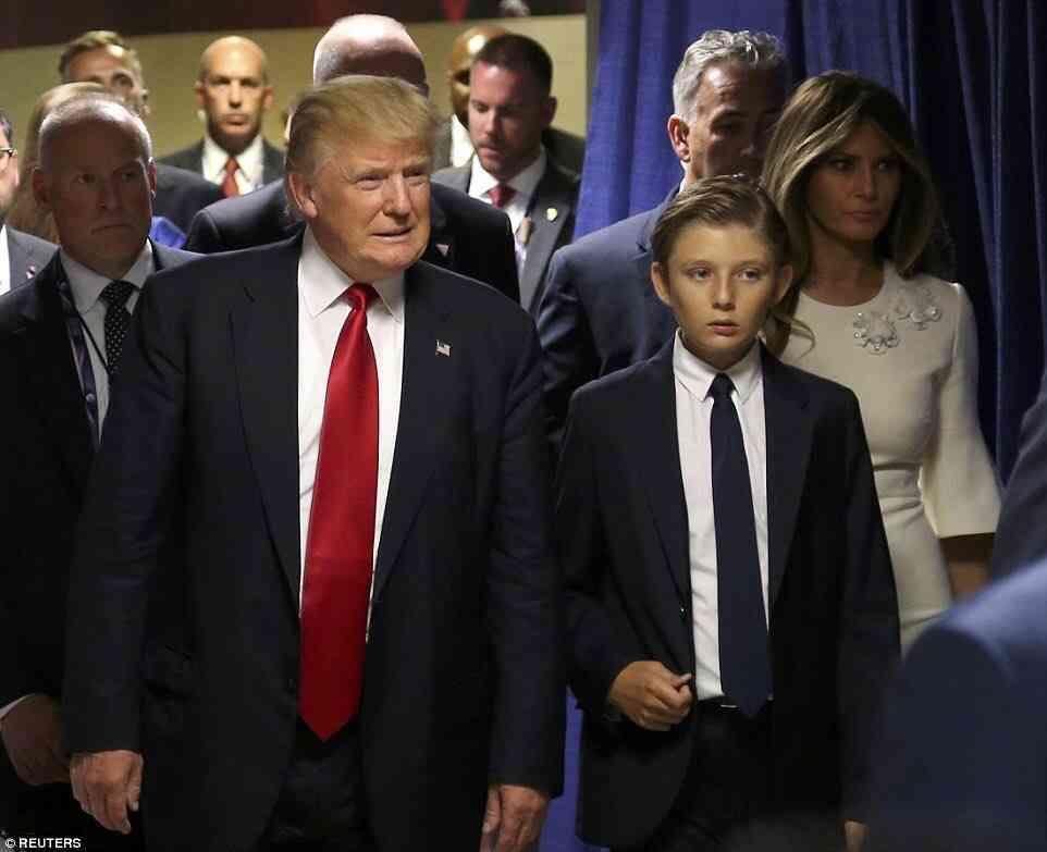 トランプより注目集める10歳イケメン息子…性格は父親そっくり!ベビーシッターに「お前はクビだ」