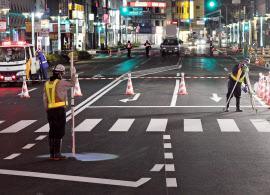 博多駅前道路陥没、埋め戻した道路が再び沈下  最大7cm沈み込む