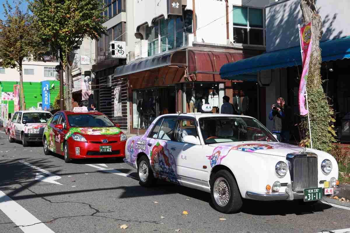 市の公用車が「痛車」!? 長野県飯田市を走る「ナミキちゃん号」