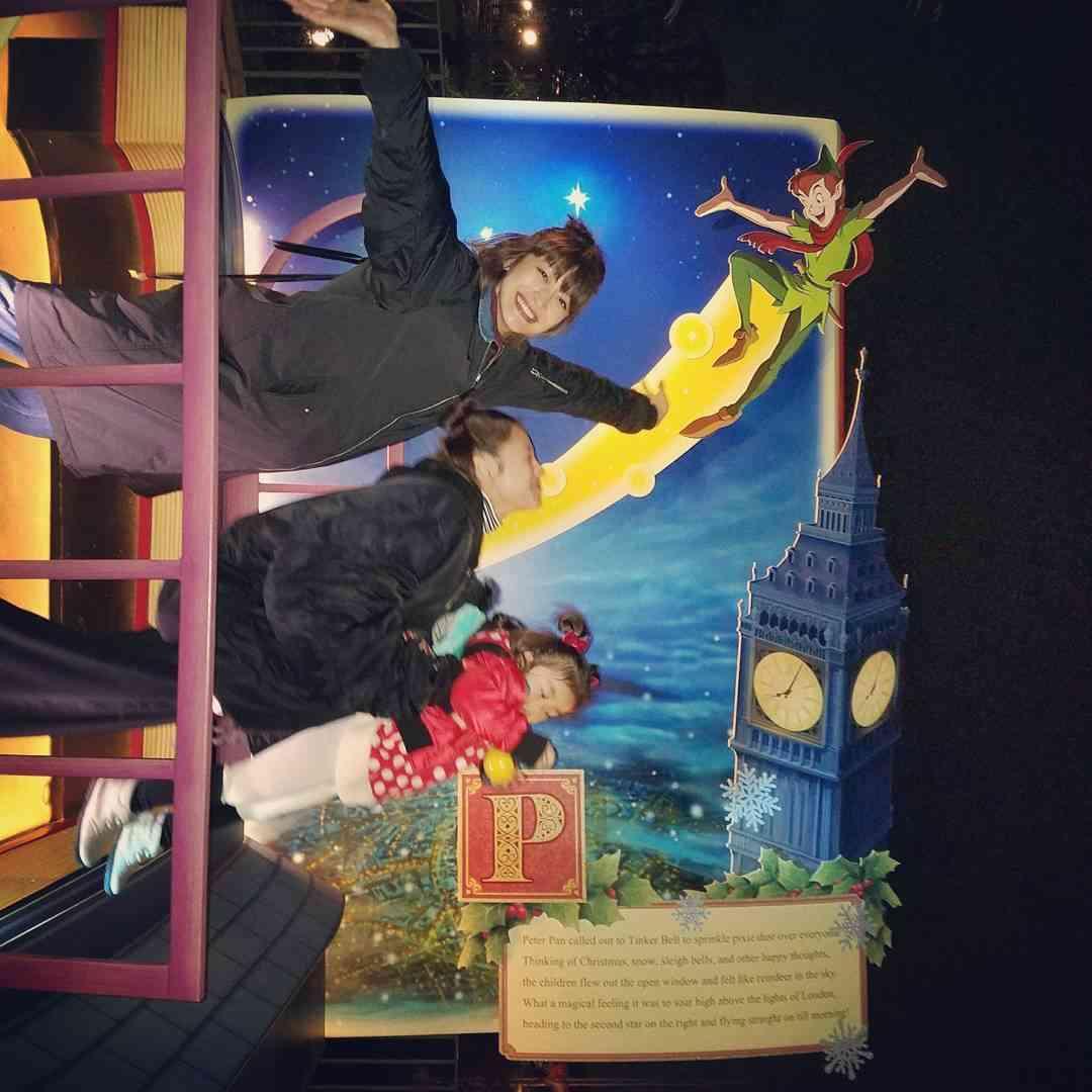 山田優&西山茉希、変装なしでディズニー満喫「子供以上にはしゃぐ親2人」に反響