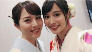 広瀬アリス、比嘉愛未と着物姿のそっくり2ショット披露「似ているとよく言われます」/2016年11月28日 - エンタメ - ニュース - クランクイン!