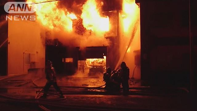 ハイブリッド車充電中に出火か 札幌市で住宅全焼