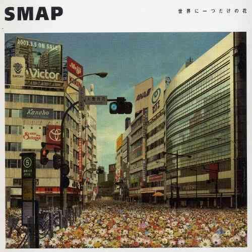 【オリコン】SMAP「世界に一つだけの花」購買現象…ついにデイリー1位到達
