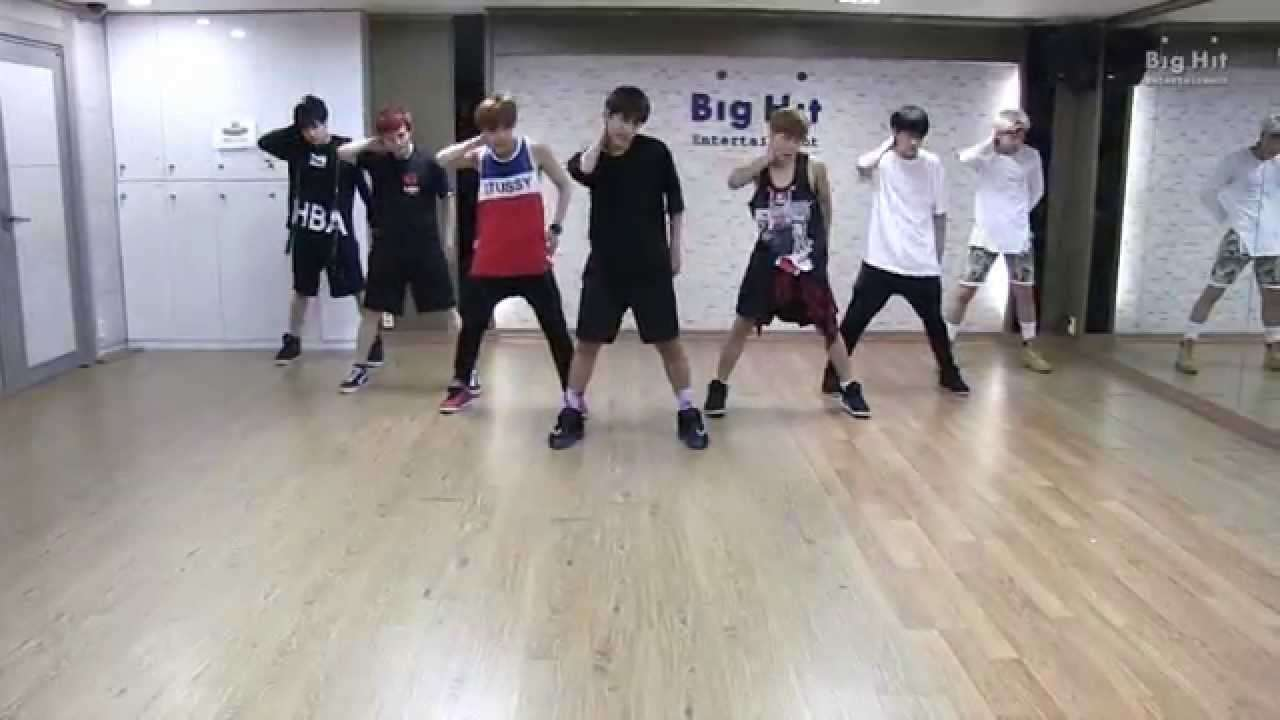 방탄소년단 'Danger' dance practice - YouTube