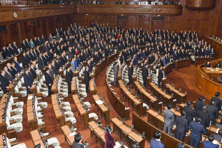 <TPP>衆院を通過  承認案と関連法案、本会議で可決