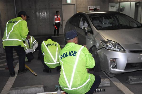 87歳運転の車が駐車誘導中の87歳女性はねる 群馬・高崎市役所駐車場で事故 - 産経ニュース