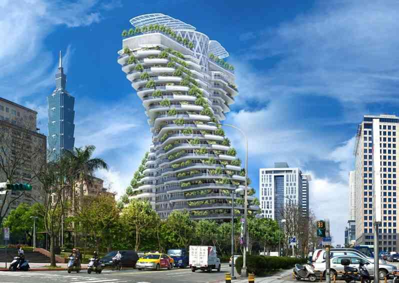 Vincent Callebaut Architectures TAIPEI