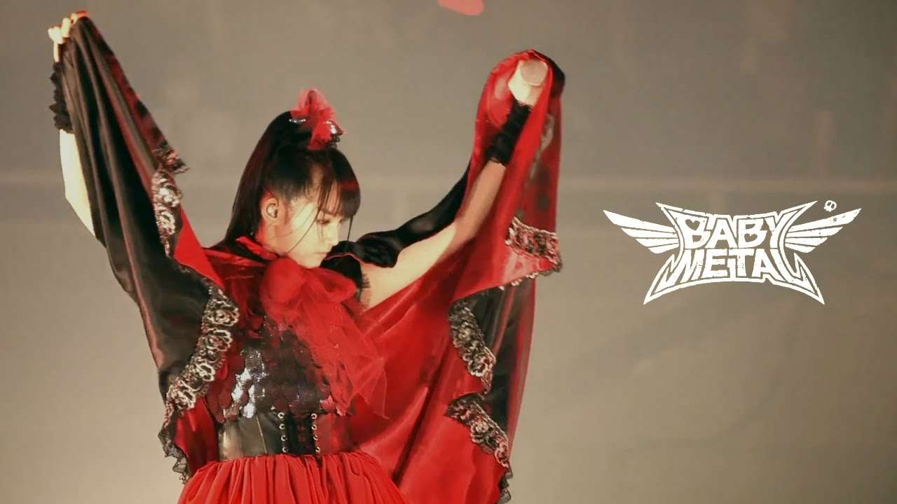 BabyMetal Black Night Live - Akatsuki 1080p - YouTube