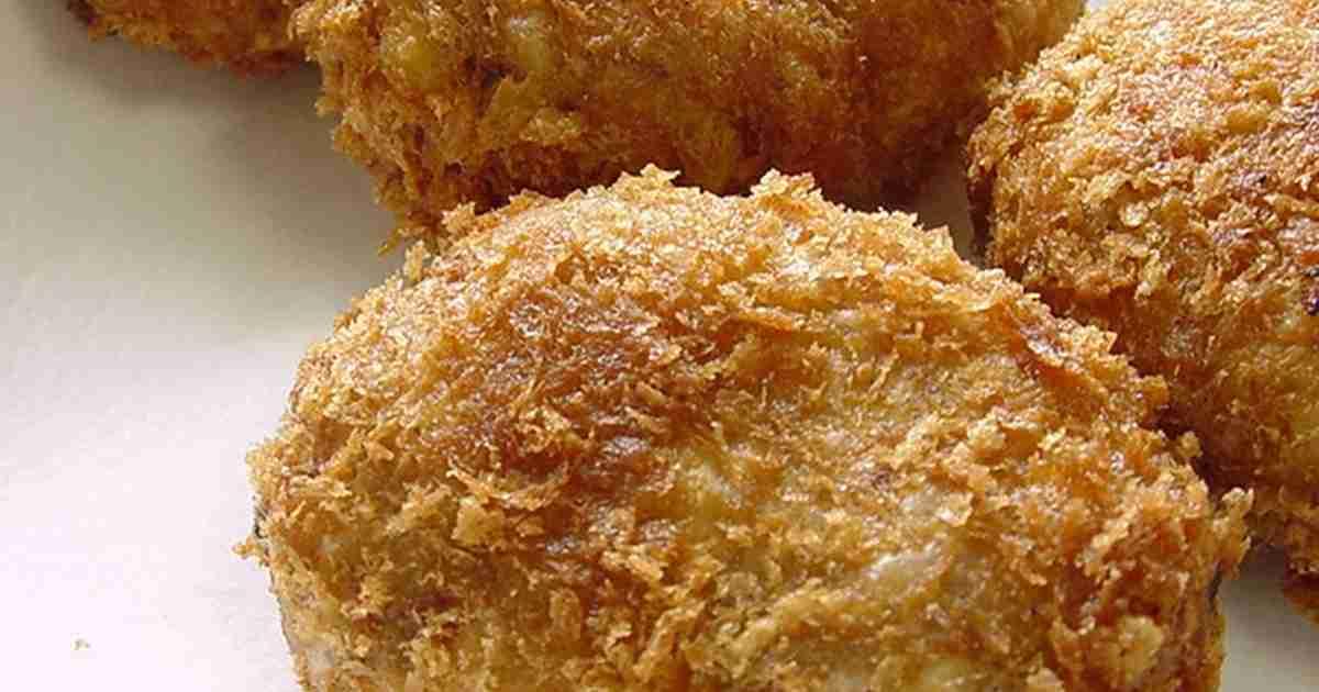 お肉屋さん風コロッケ。 by ラビー [クックパッド] 簡単おいしいみんなのレシピが253万品
