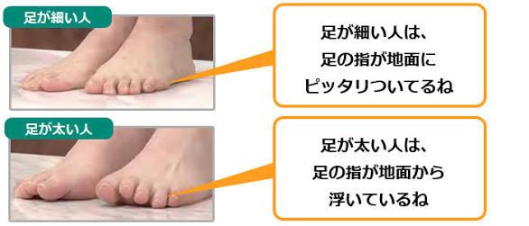 足が太い人ーーーー!!!!!!