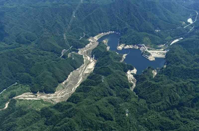 <高濃度セシウム>福島第1周辺のダム底に堆積