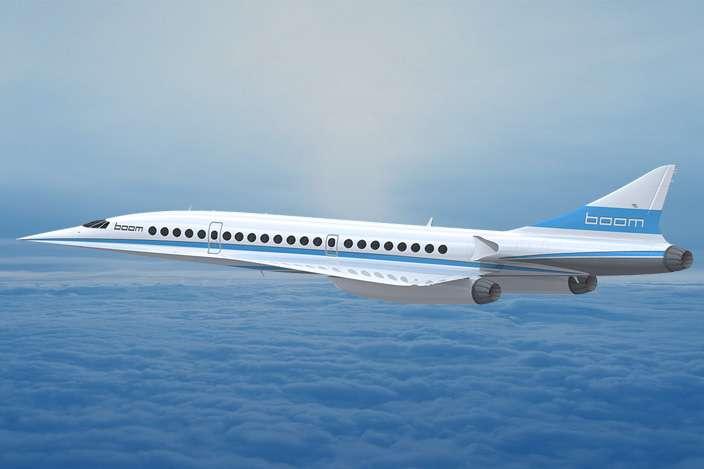 超音速旅客機がよみがえる!? マッハ2.2で飛ぶデモ機『XB-1』誕生か – DIGIMONO!(デジモノ!)