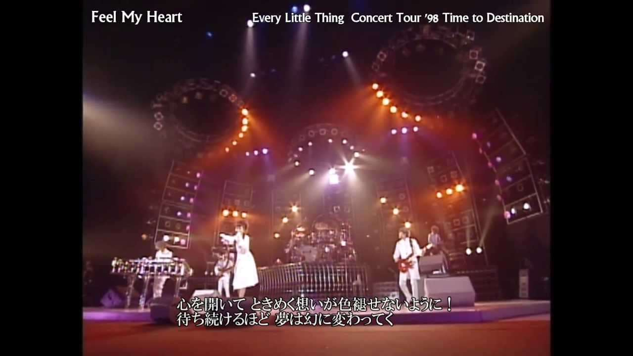 Every Little Thing - Feel My Heart / tour 1998 〔歌詞付き〕 - YouTube