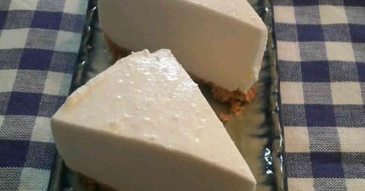 水切りヨーグルトで♪レアチーズケーキ by オレンジリング [クックパッド] 簡単おいしいみんなのレシピが253万品