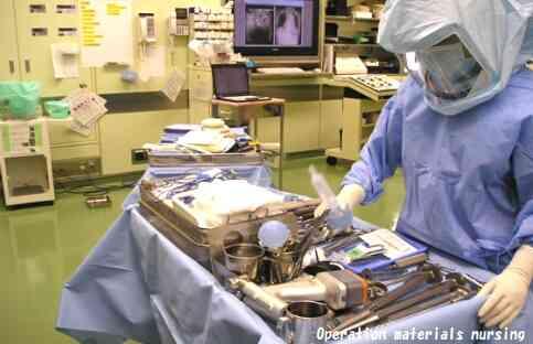 医療関係で働いている人